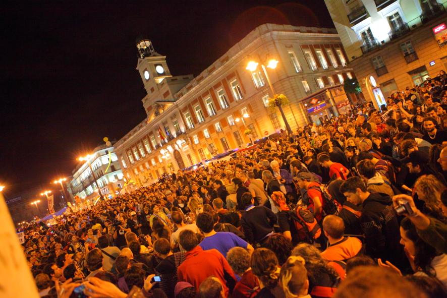 Movimiento 15-M, Madrid, 2011