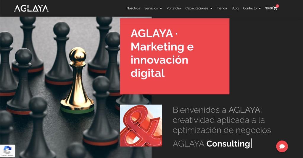 AGLAYA · La agencia de marketing e innovación digital de Ibai Fernández