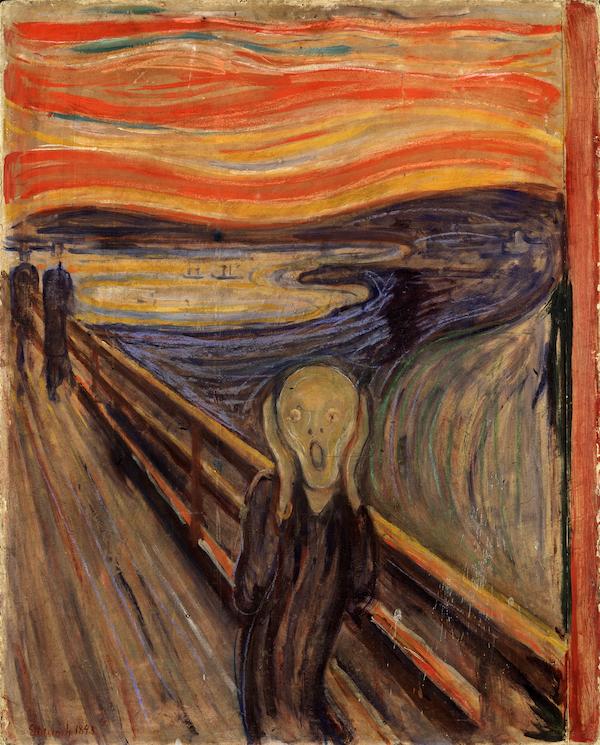 El Grito, de Edvard Münch