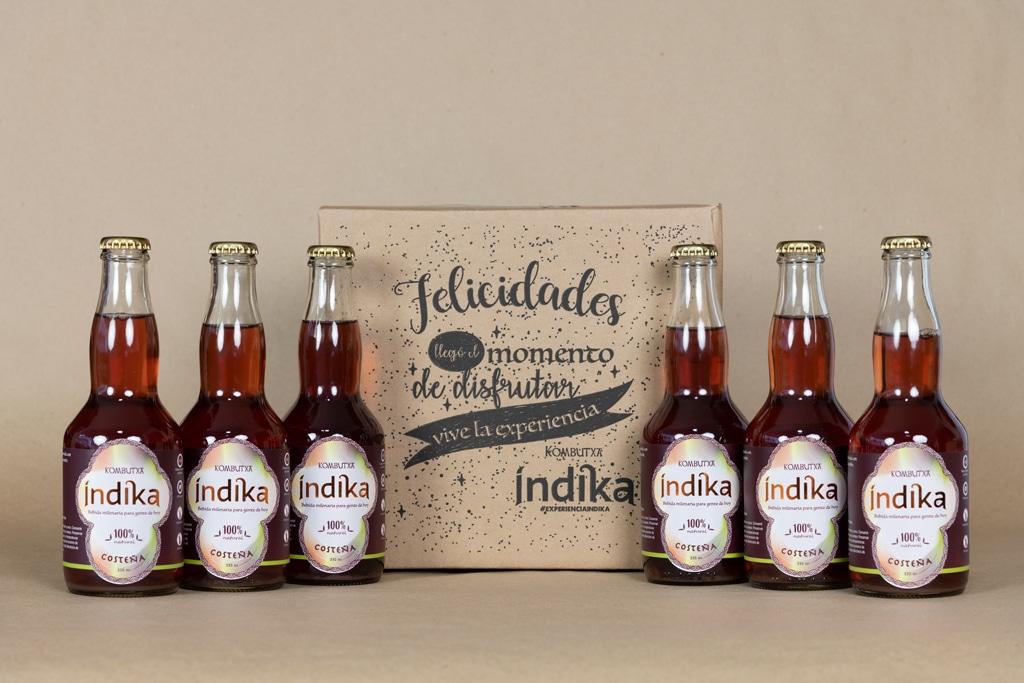 Kombutxa Índika · Un emprendimiento de Ibai Fernández