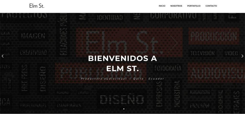 Elm St. - Productora audiovisual fundada por Ibai Fernández