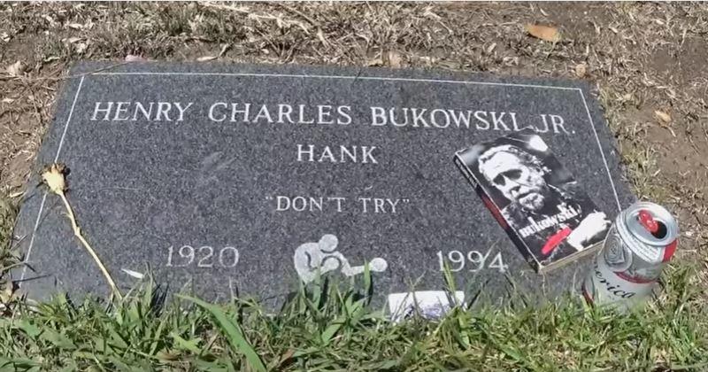 Bukowski Tombstone