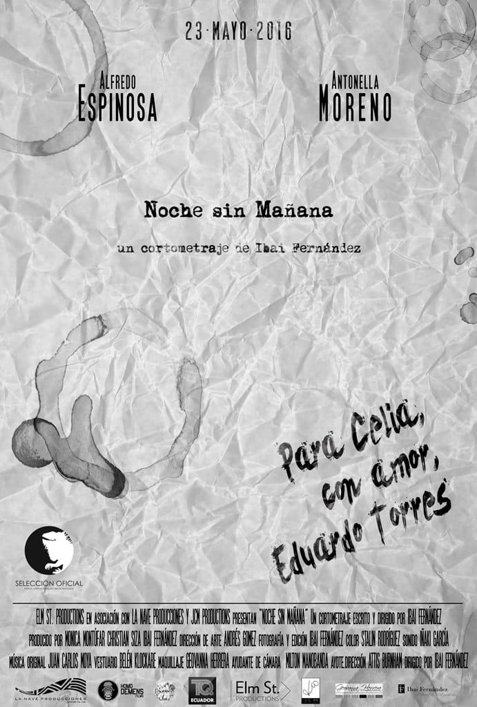 Noche sin mañana (afiche)