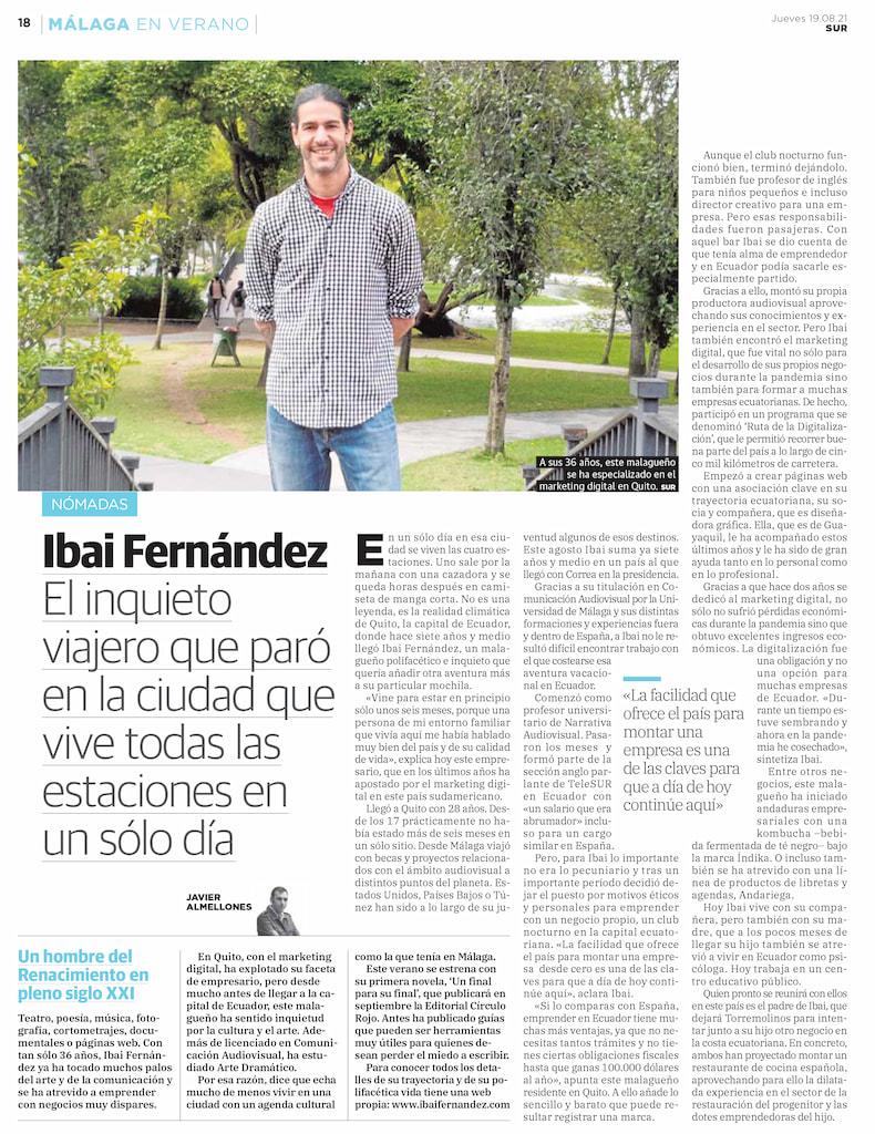 Ibai Fernández Diario Sur