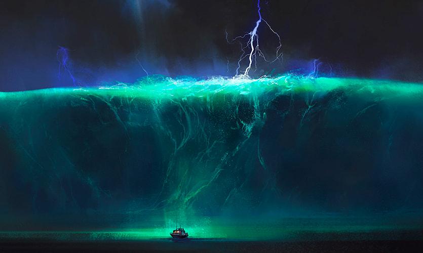 Expresioniria — Alan Arkin y el mar